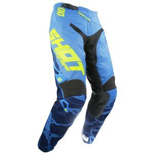 Pantalon Cross Shot Destockage Aerolite Magma Bleu Neon Jaune 2017