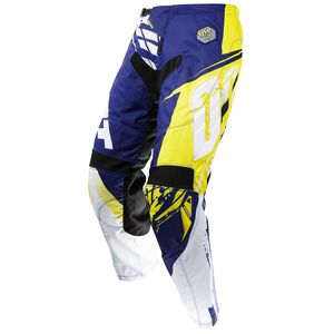 Pantalon Cross Shot Destockage Contact Fast Bleu Jaune 2017