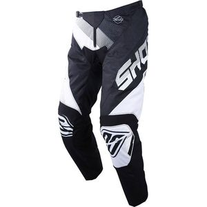 Pantalon cross DEVO KID ULTIMATE - BLACK WHITE  Black White