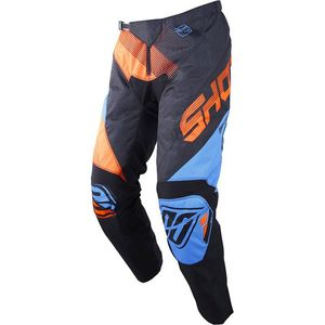 Pantalon cross DEVO ULTIMATE - BLUE NEON ORANGE 2019 Blue Neon Orange