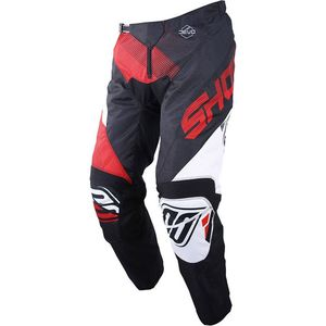Pantalon cross DEVO KID ULTIMATE -BLACK RED  Noir/Rouge