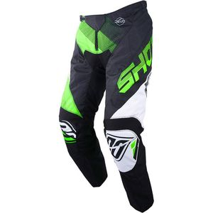 Pantalon cross DEVO KID ULTIMATE -BLACK NEON GREEN  Black Neon Green