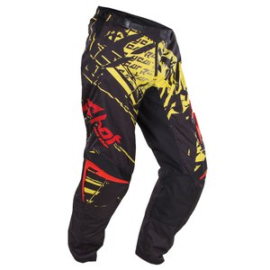 Pantalon cross DEVO LOAD KID PT  YELLOW RED  Jaune/Rouge