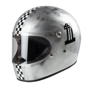 Casque TROPHY - CKONE OLD STYLE  Silver