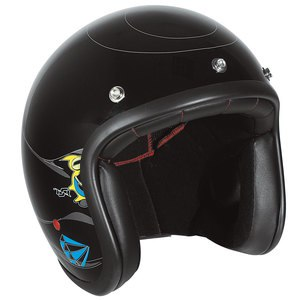 Casque PEARL - ROCKABILLY  Noir/Multicolore