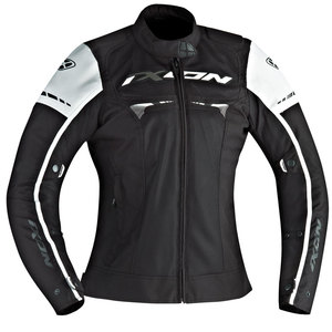 Blouson Ixon Pitrace Lady - Black White