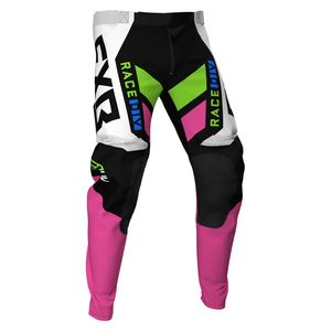 Pantalon cross PODIUM BLACK/WHITE/PINK/LIME/BLUE 2021 Black/White/Pink/Lime/Blue