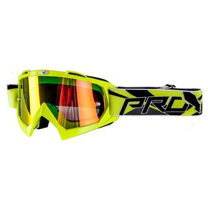 Masque cross VISION BIKKI YELLOW FLUO IRIDIUM 2018 Yellow fluo