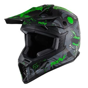 Casque cross SKUD NEGAN  Black/Green