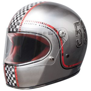 Casque TROPHY - CARBON - FL CHROMED  Chrome