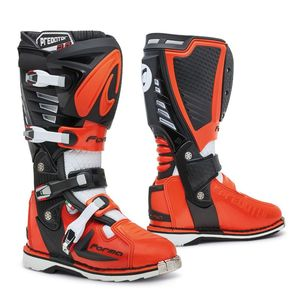 Bottes cross PREDATOR 2.0 BLACK/ORANGE/WHITE 2021 Noir/Orange/Blanc