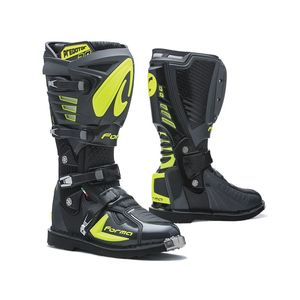 Bottes cross PREDATOR 2.0 ANTHRACITE/JAUNE FLUO 2019 Anthracite/Jaune fluo