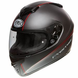 Casque DRAGON EVO  Gris Rouge