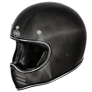 Casque TROPHY - MX - CARBON  Carbone