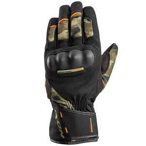 Gants PRO RUSSEL CAMO  Kaki/Orange