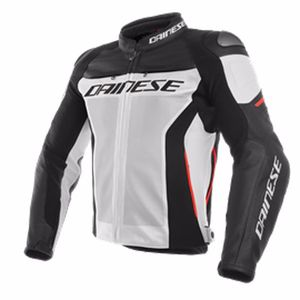 Blouson RACING 3 PERF.  White/Black/Red