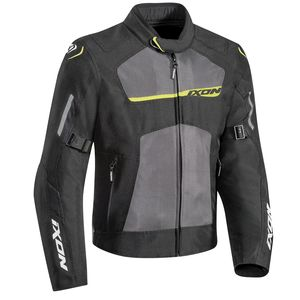 Blouson RAPTOR  Black/Grey/Jaune vif