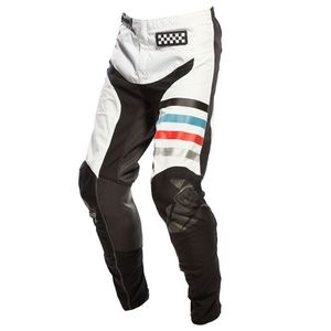 Pantalon cross RAVEN 2.0 WHITE BLACK 2021 Black