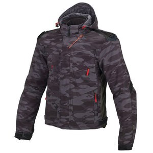 Blouson REDOX NIGHT EYES  Camo noir