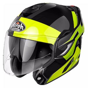 Casque REV - FUSION  Jaune