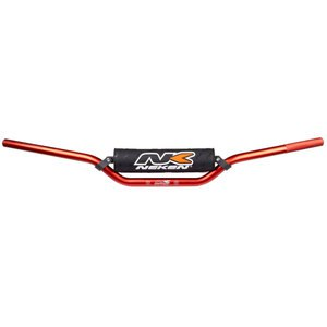 Guidon 22mm Low spécial CRF/KXF  Rouge