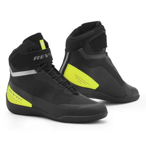 Baskets MISSION  Black Neon Yellow