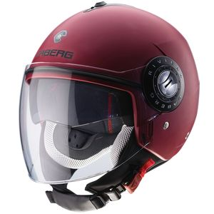 Casque RIVIERA V3 NEW MATT  MATT RED WINE