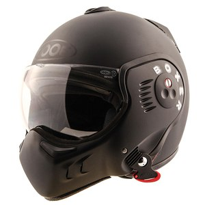 Casque RO5 BOXER V8 FULL BLACK  Noir mat