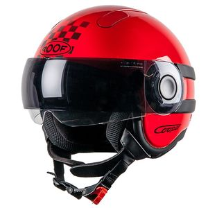 Casque RO35 COOPER SUNSET  Rouge/Noir