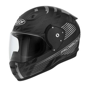 Casque RO200 CARBON - SPEEDER MATT  Black Acier