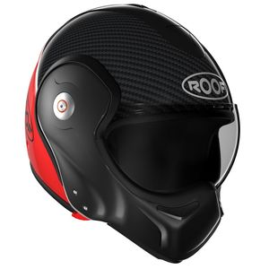 Casque Roof Ro9 Boxxer Carbon Rouge