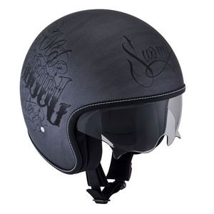 Casque Suomy Rokk Old School Rider Scratch