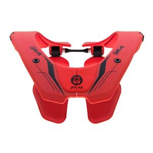 Protection cervicale PRODIGY BRACE FIRE  Rouge