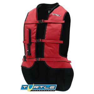 Gilet Airbag TURTLE COLOR  Rouge