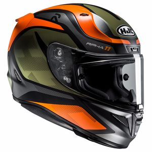 Casque RPHA 11 - DEROKA  Kaki/Orange