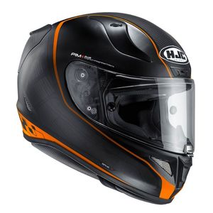 Casque RPHA 11 - RIBERTE  Noir/Orange