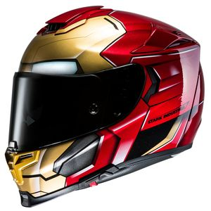 Casque Hjc Rpha 70 - Iron Man Homecoming Marvel