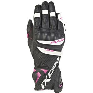 Gants RS TEMPO AIR LADY  Noir/Blanc/Fuschia