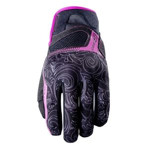 Gants RS3 WOMAN BLACK PINK  Noir/Rose