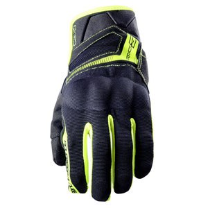 Gants RS3  Black Fluo Yellow