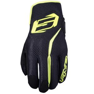 Gants RS5 AIR  Black Fluo Yellow