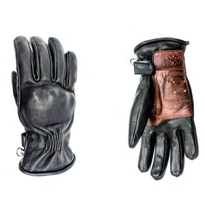 Gants RUBY LADY - BLACK  Noir Camel
