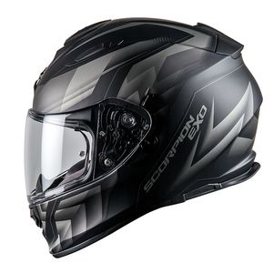 Casque Scorpion Exo Exo-510 Air - Scale Black Silver