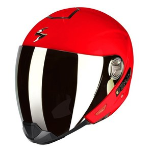 Casque EXO-300 AIR - UNI BRILLANT  Rouge Fluo
