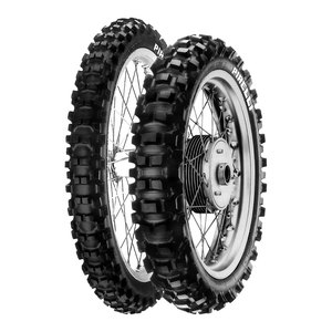 Pneumatique SCORPION XC MIDDLE HARD 110/100 - 18 (64M) TT