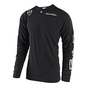 Maillot cross SE AIR - SOLO - BLACK 2019 Noir/Blanc