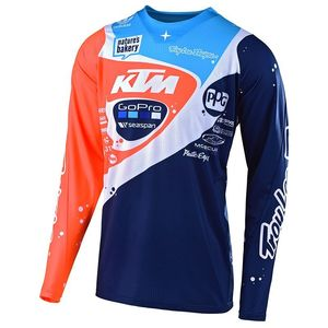 Maillot cross SE PRO NEPTURE BLEU/ORANGE 2019 Bleu/Orange