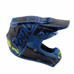 Casque cross SE4 POLYACRYLITE FACTORY BLUE JUNIOR  Blue