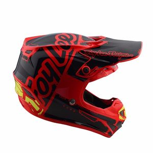 Casque cross SE4 POLYACRYLITE FACTORY RED  Rouge