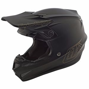 Casque cross SE4 POLYACRYLITE MONO BLACK 2019 Black